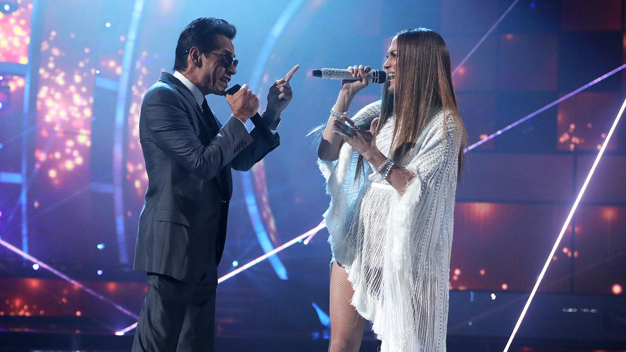 J Lo Hair Styles: Marc Anthony And Jennifer Lopez Sing A Duet -- And Share A