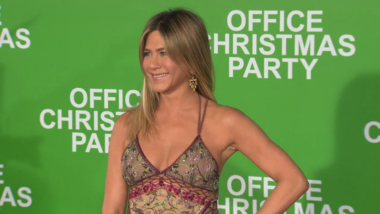 EXCLUSIVE: \'Office Christmas Party\' Star Jennifer Aniston Gives ...