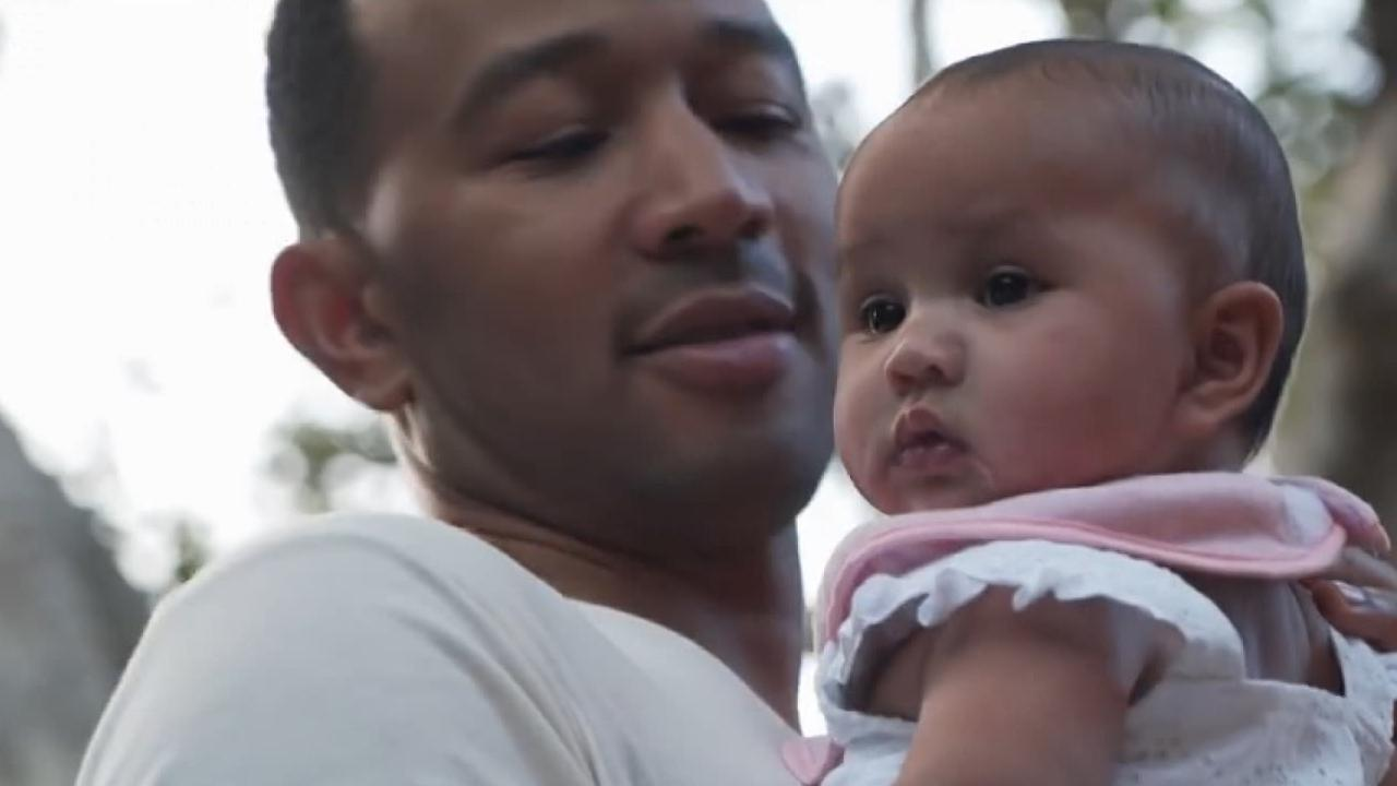 EXCLUSIVE: John Legend On Filming Baby Luna for His 'Love ...