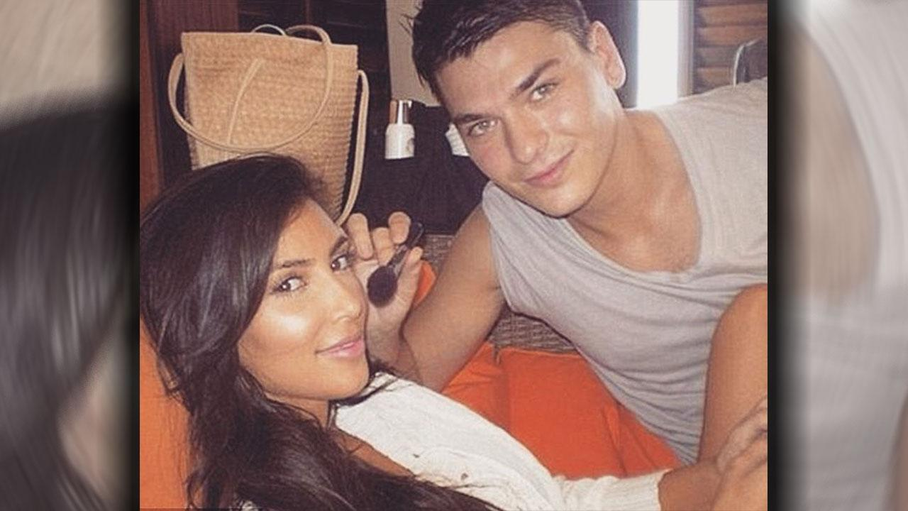 Kim Kardashian's Makeup Artist Got Very Intimate While Preparing Her