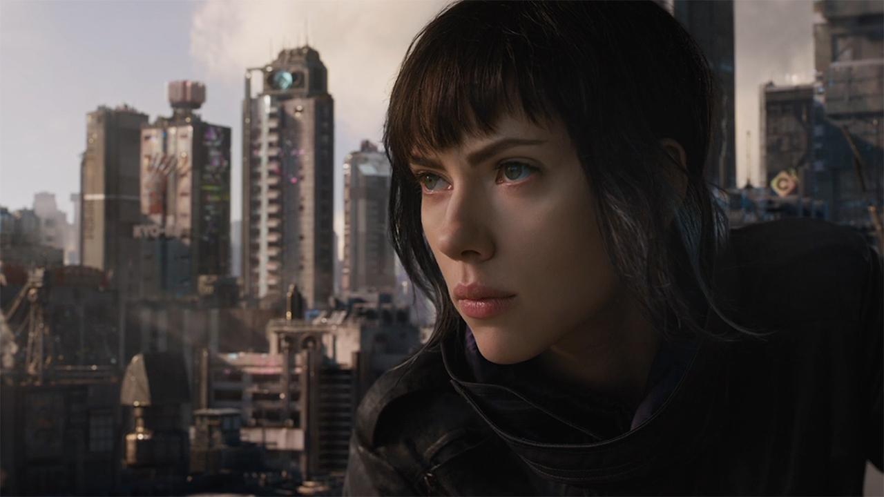 Scarlett Johansson plays cyborg cop The Major in new Ghost