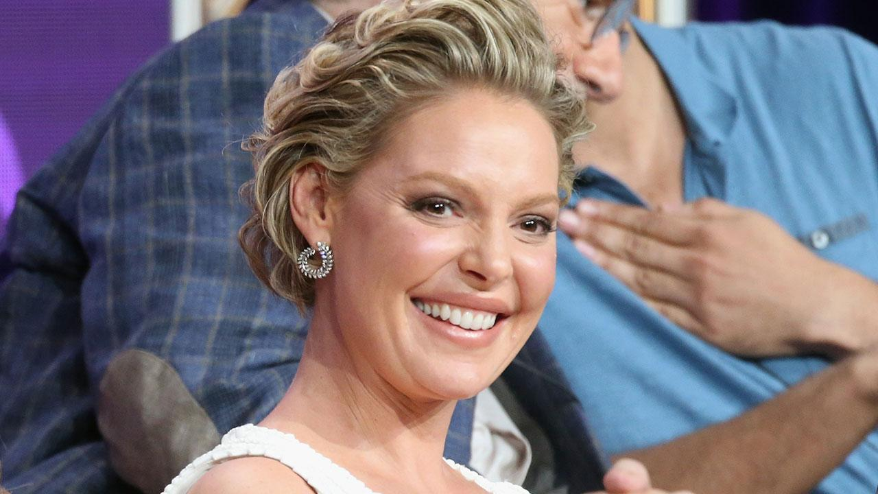 Watch Katherine Heigl Opens Up About Her First Pregnancy (and Third Child) Being a Total Surprise video