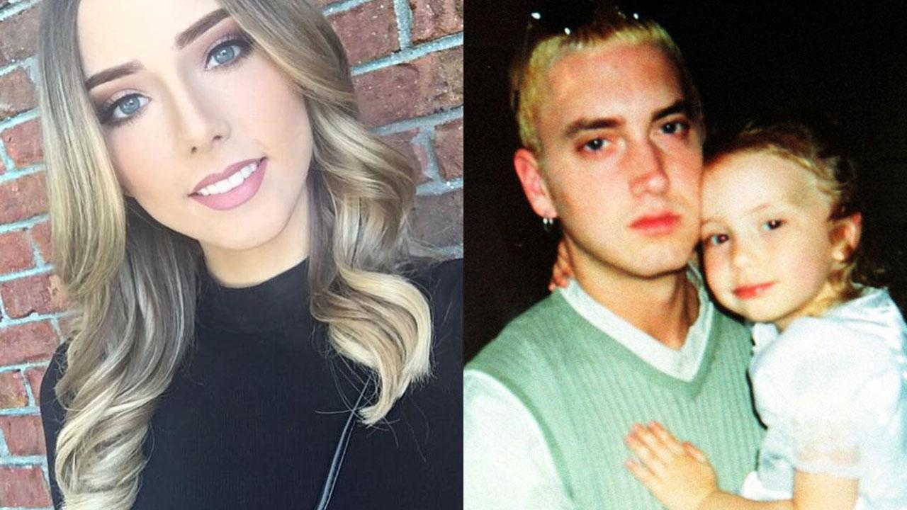 eminems daughter hailie 21 looks totally grown up and