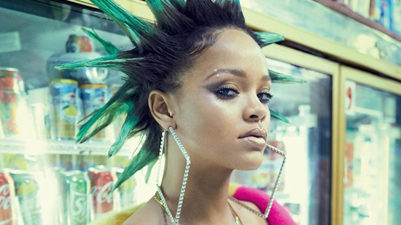 Rihanna Gets A Complete Punk Rock Makeover See Her