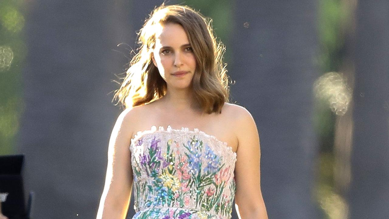 Natalie Portman Returns To Work For First Time Since