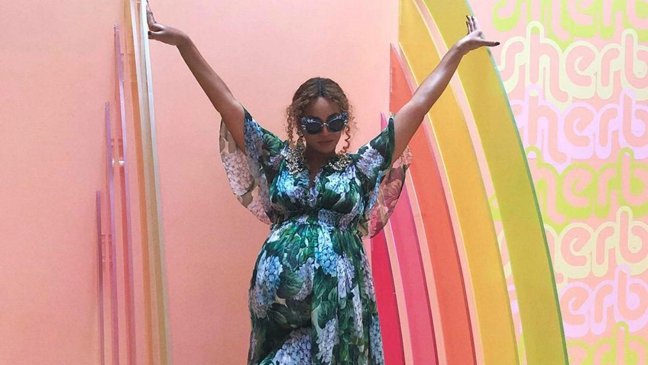 Beyonce Shares Adorable Pics From Museum of Ice Cream