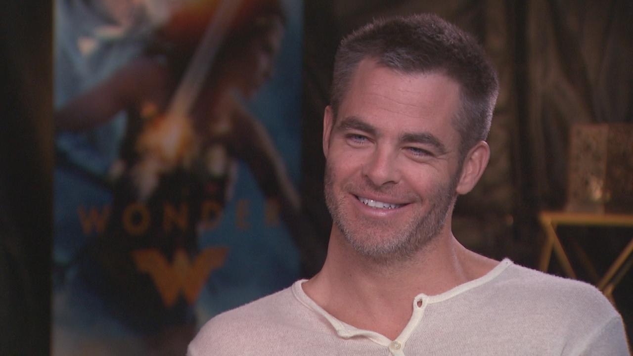 Exclusive Chris Pine Has The Perfect Answer To Being Called Wonder Womans Damsel -1109