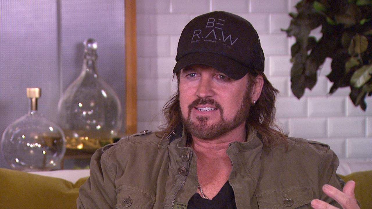 Exclusive Billy Ray Cyrus Gushes Over Miley Cyrus