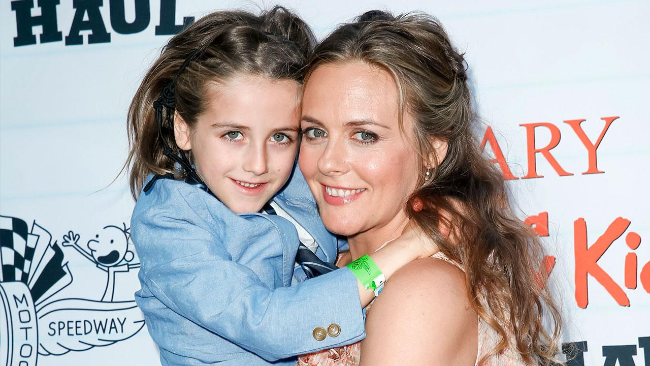 Exclusive Alicia Silverstone Dishes On Taking Son Bear To