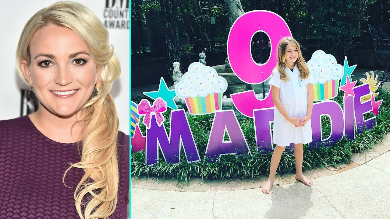 Jamie Lynn Spears Daughter Maddie Celebrates 9th Birthday