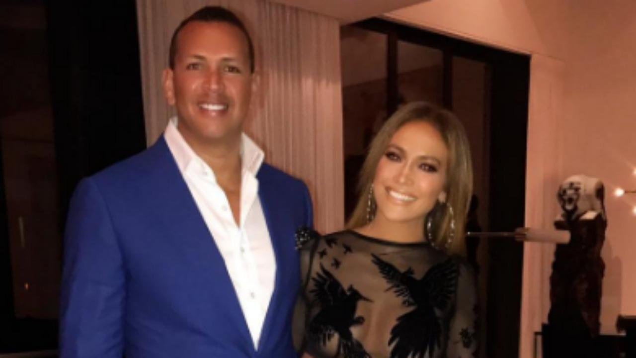 Jennifer Lopez Wows In Sheer Dress For Joint Birthday