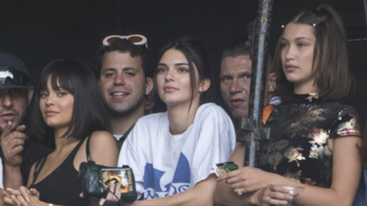 Kylie Jenner Cheers On Beau Travis Scott At Wireless