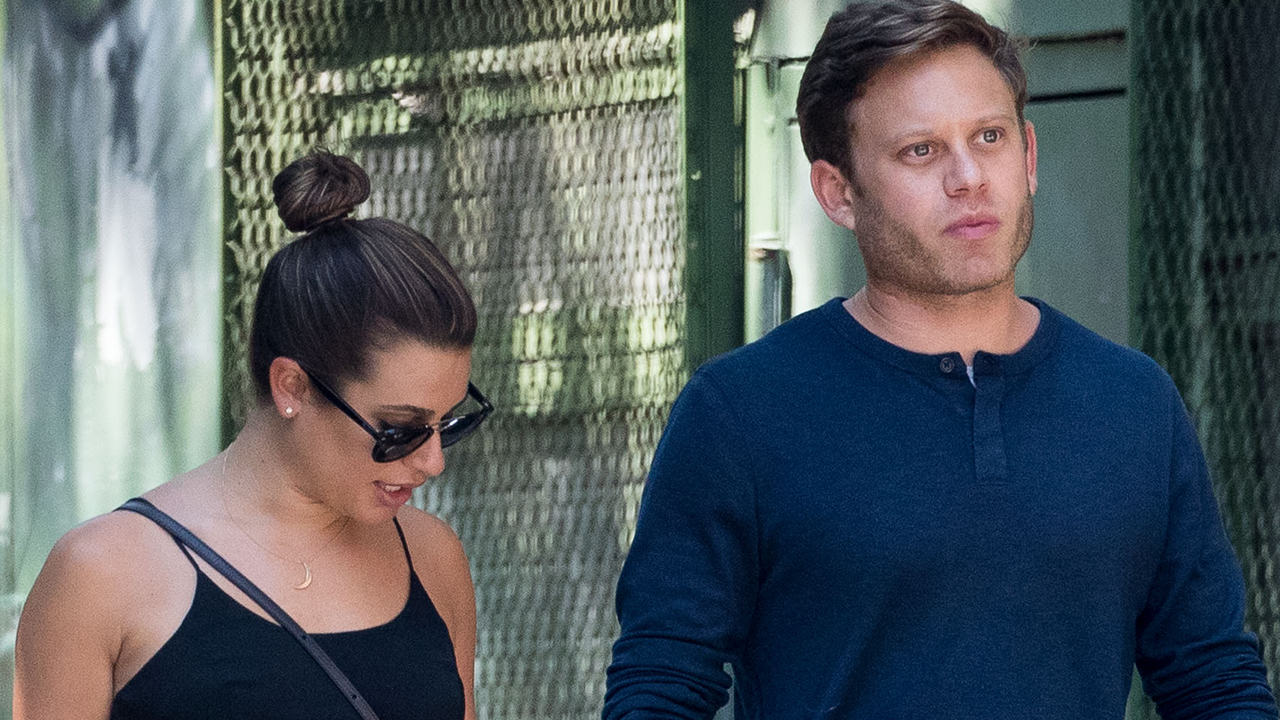 Lea Michele Spotted Holding Hands With New Man Zandy Reich