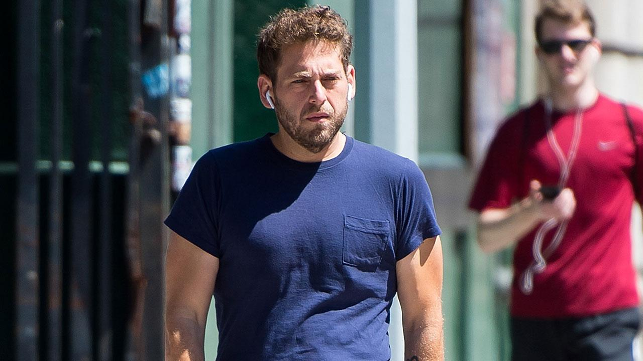 Jonah Hill Looks More Fit Than Ever Walking in NYC: Pic ...