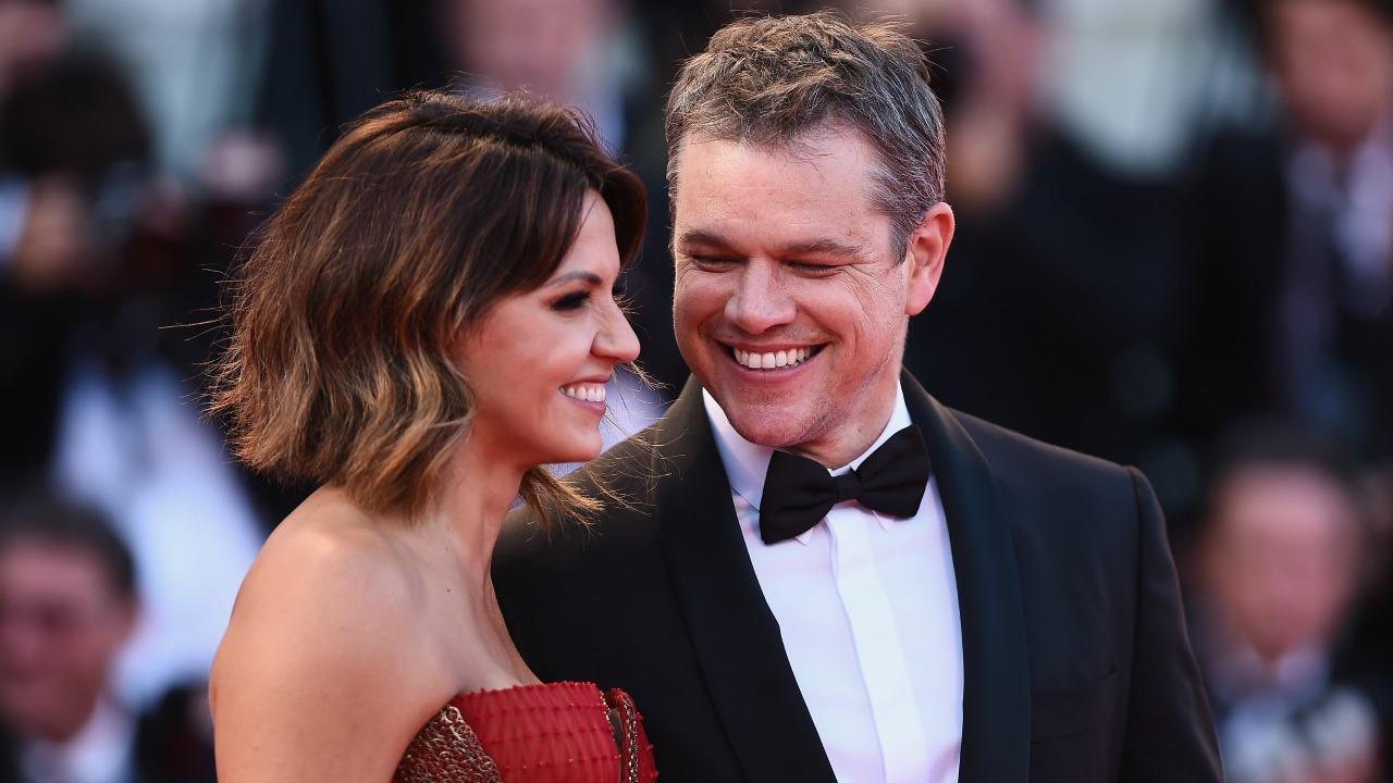 Matt Damon And Wife Luciana Barroso Look So In Love At