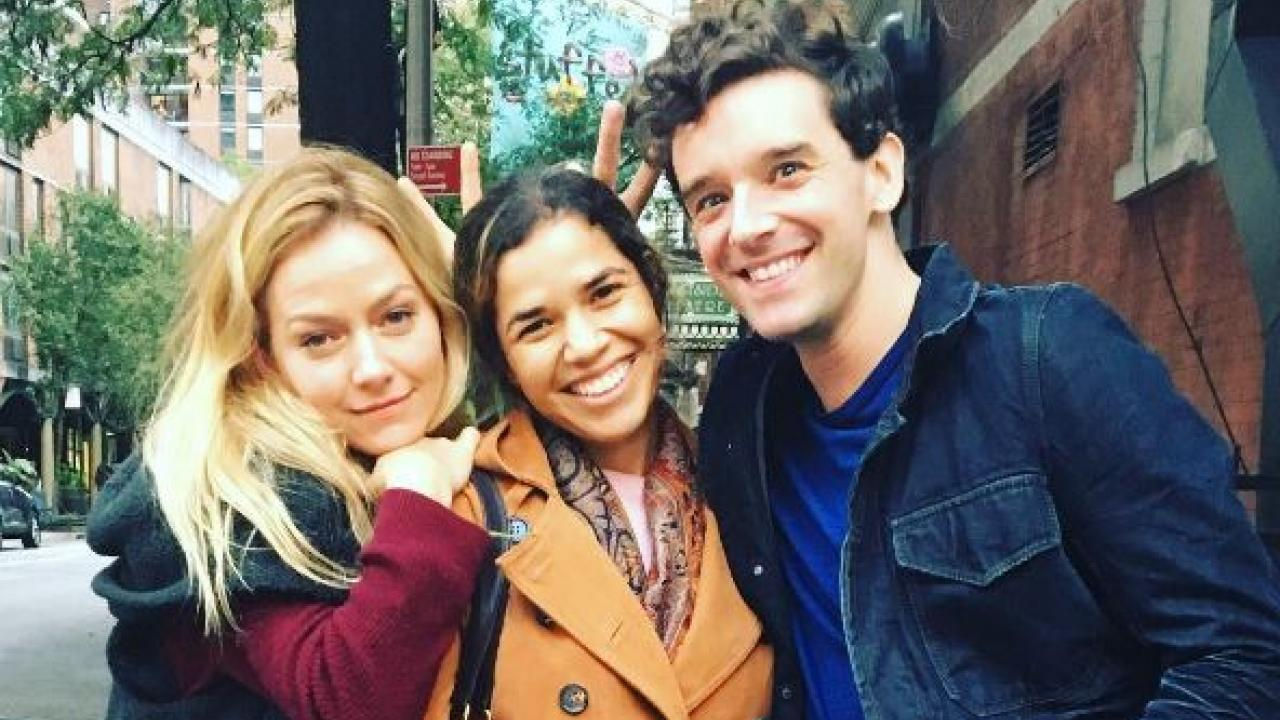 America Ferrera Reunites With Ugly Betty Co Stars In New