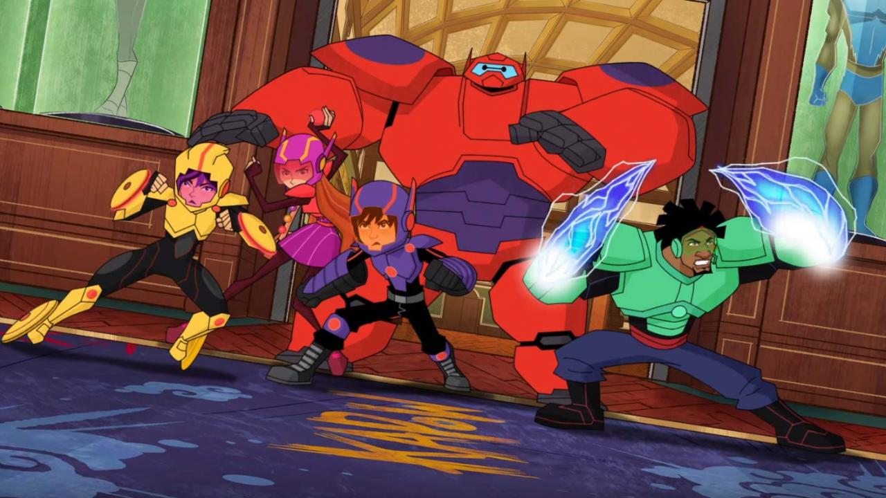 Exclusive Baymax And The Big Hero 6 Team Suit Up In