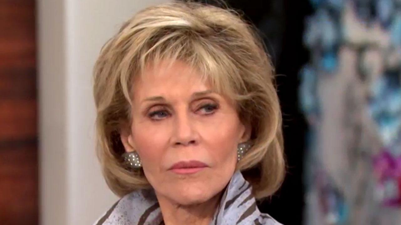 Jane Fonda Has Awkward Interaction With Megyn Kelly After