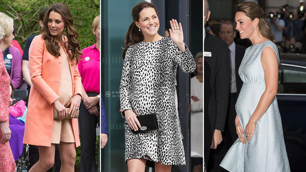 Kate middletons top 10 pregnancy looks see her regal maternity kate middletons top 10 pregnancy looks see her regal maternity fashion entertainment tonight ombrellifo Gallery