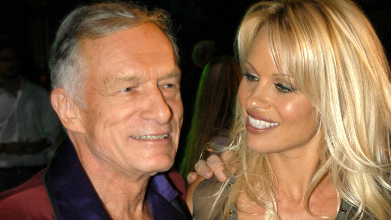 Image result for pamela anderson and hugh hefner