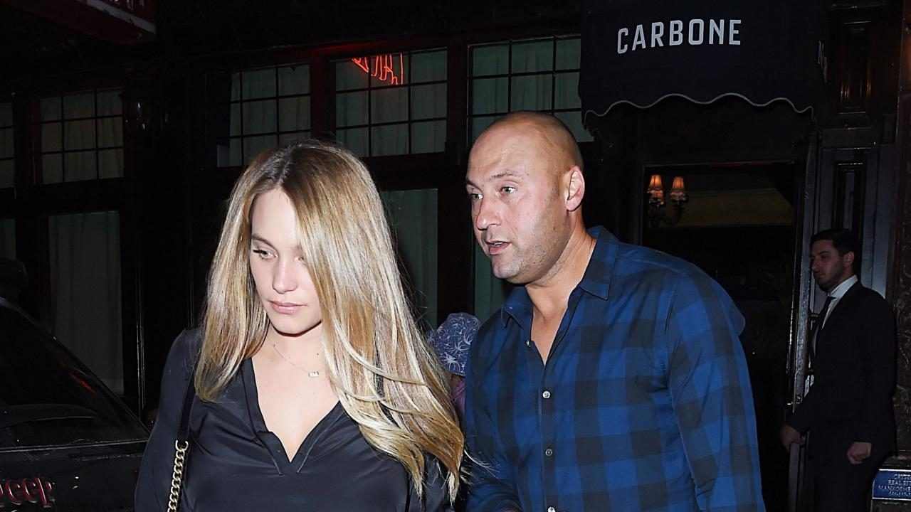 Derek And Hannah Jeter Step Out For First Date Night Since