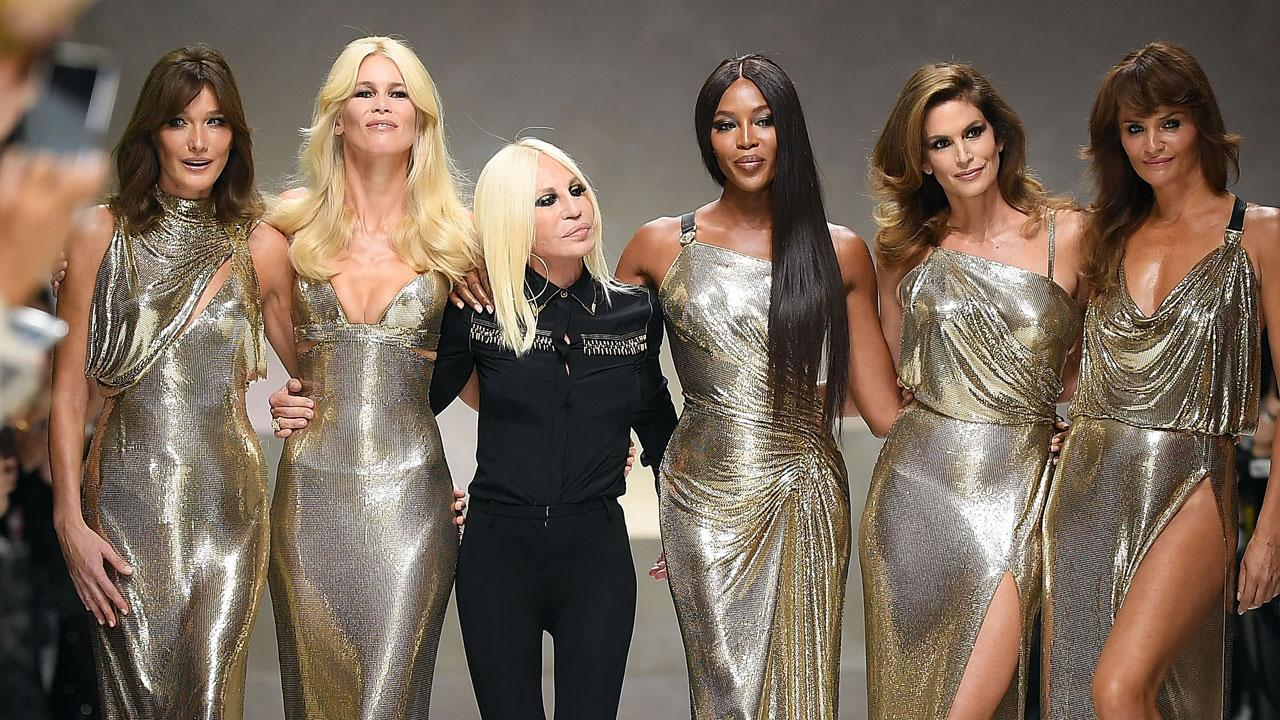 Donatella Versace Pays Tribute to Her Late Brother Gianni by Reu - CBS News  8 - San Diego 00f7ecc16