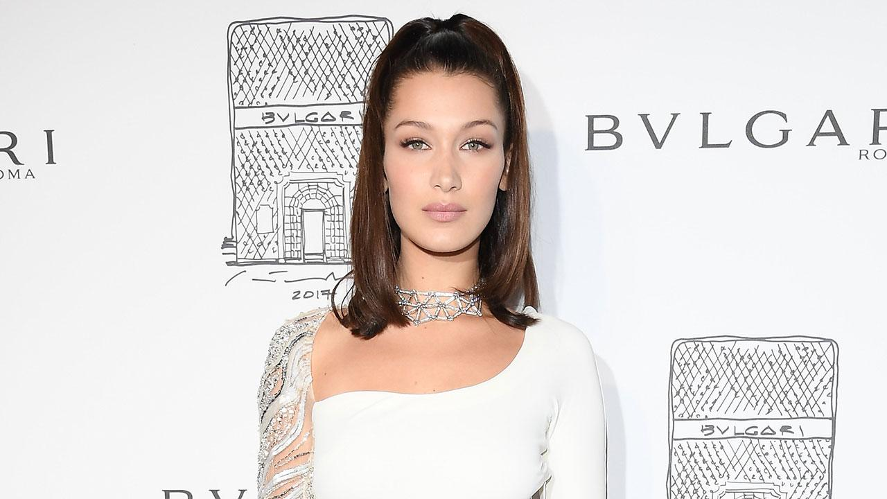 Bella Hadid Steps Out in Ultra Glam, Sexy White Dress in New Yor ...