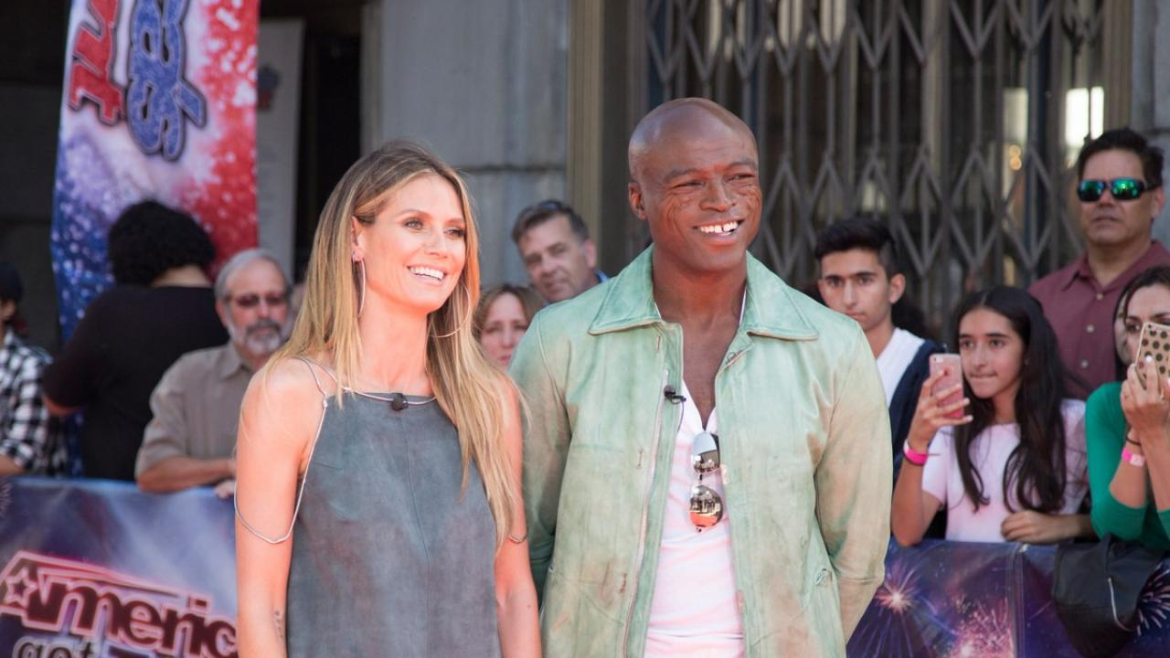Heidi Klum and Seal Celebrate Daughter Lou's Birthday With ...