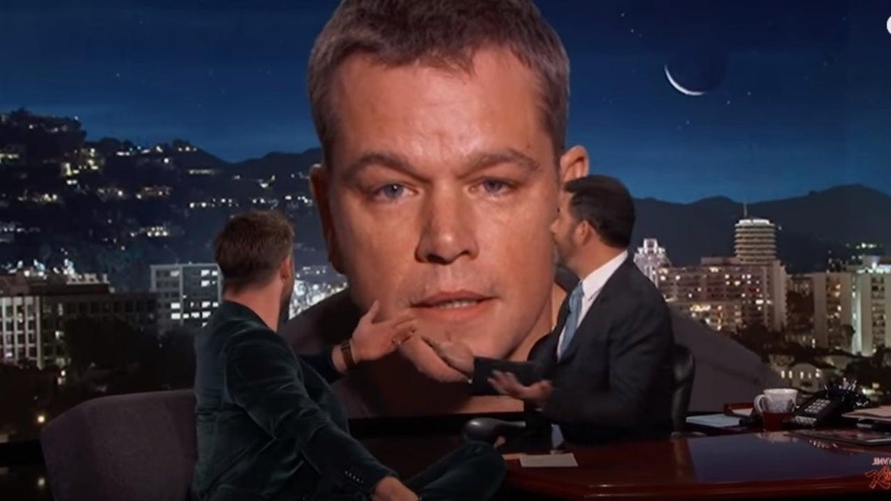 Matt Damon Ruins Chris Hemsworth S Kimmel Interview I