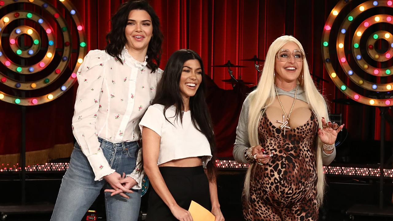 Kourtney Kardashian and Kendall Jenner Confront Ellen ...