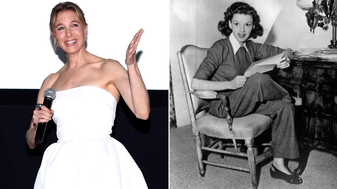 Renee Zellweger To Play Judy Garland In New Biopic Cbs