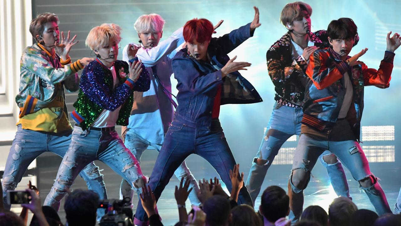 BTS' Best Moments at the American Music Awards -- From