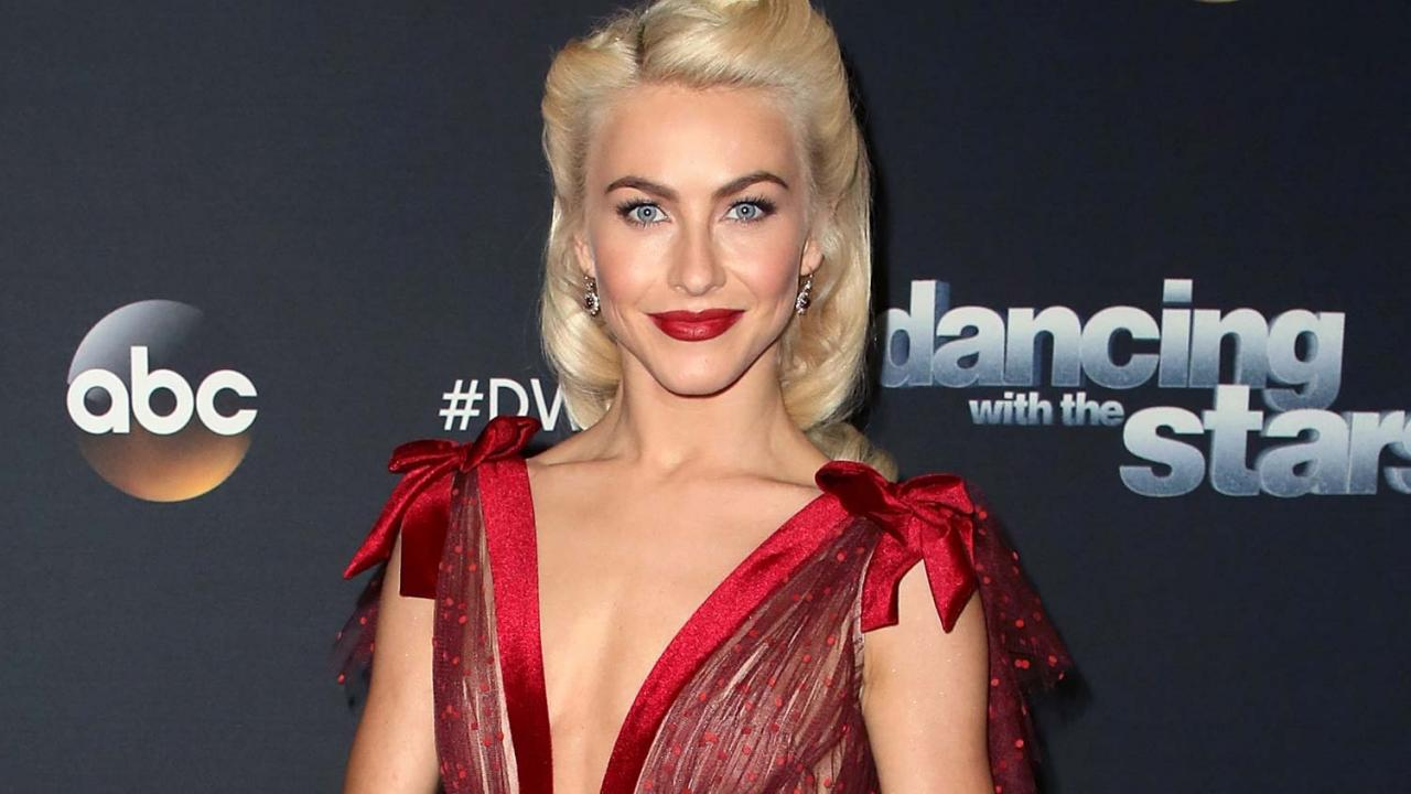 julianne hough dyes her hair red see the shocking pic