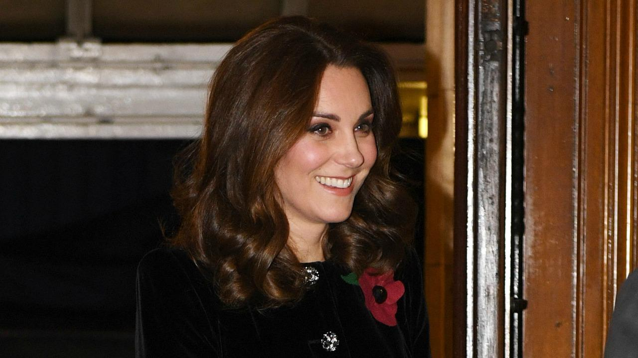 Kate Middleton Covers Baby Bump In Chic Coat Dress At Festival O