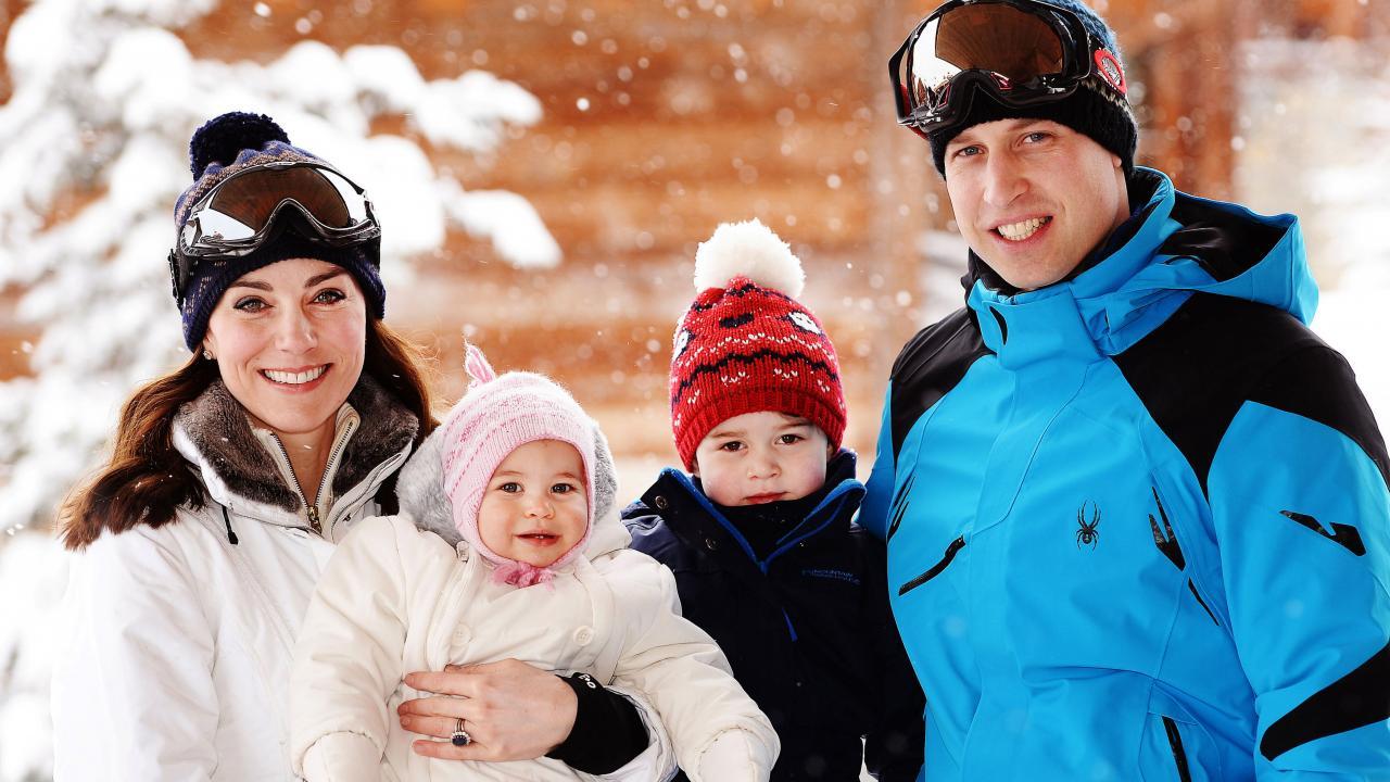 prince williams and kate middleton share royal family christmas card