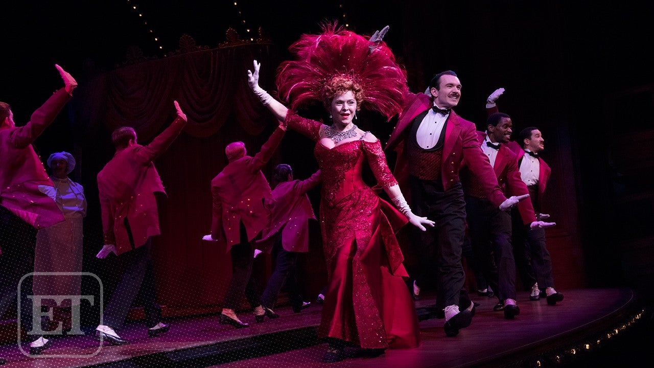 First Look At Bernadette Peters In Hello Dolly Exclusive Entertainment Tonight