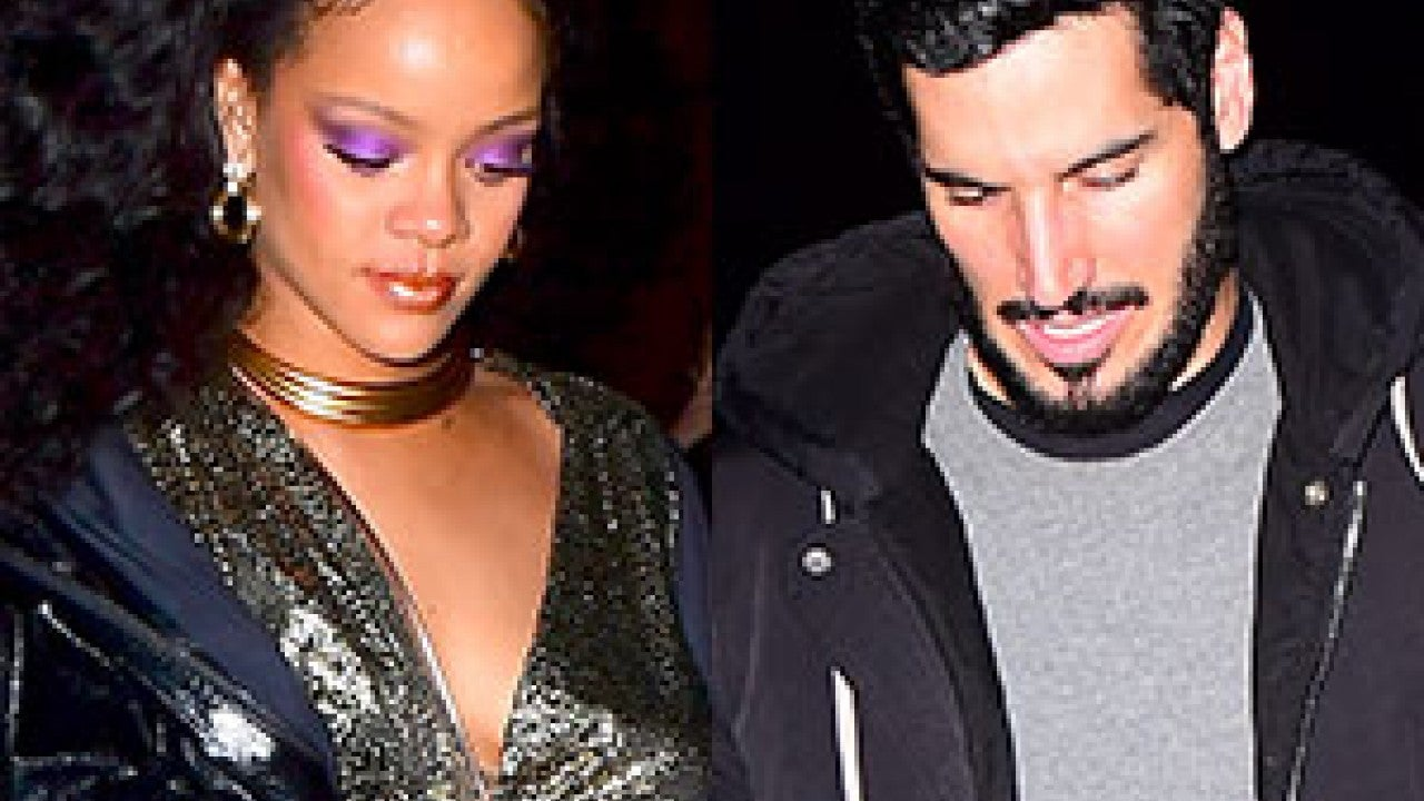 Who is rihanna dating april 2018