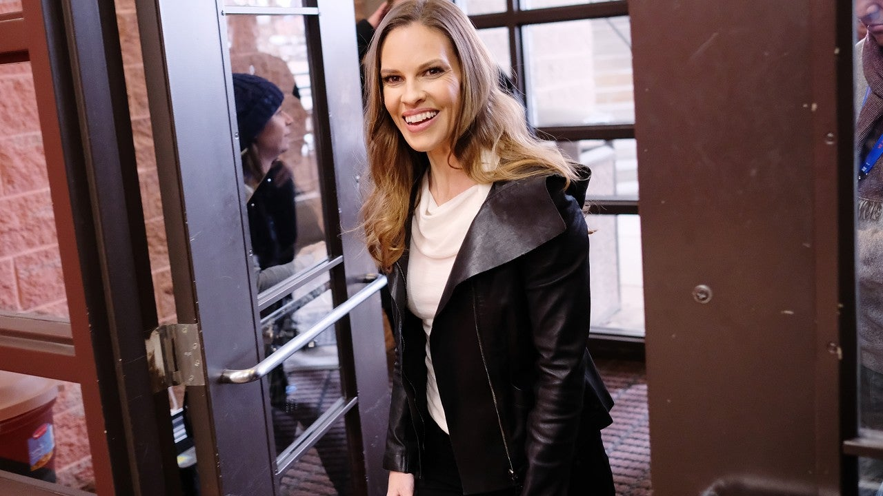 Hilary Swank Wishes Her Dad a Happy 70th Birthday After ...