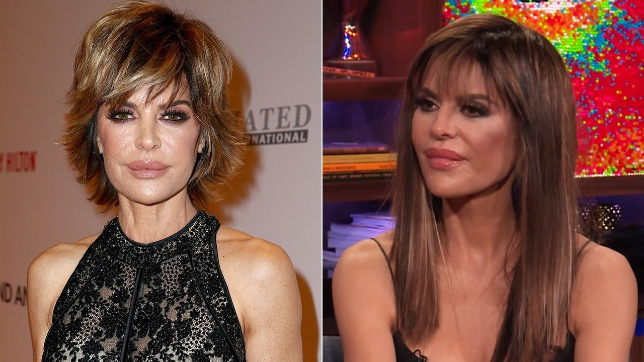 Lisa Rinna Ditches Her Signature Bob For Longer Locks See
