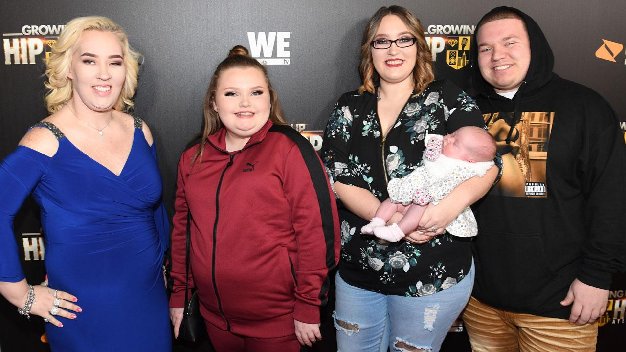 Mama June Hits The Red Carpet With Her Newborn