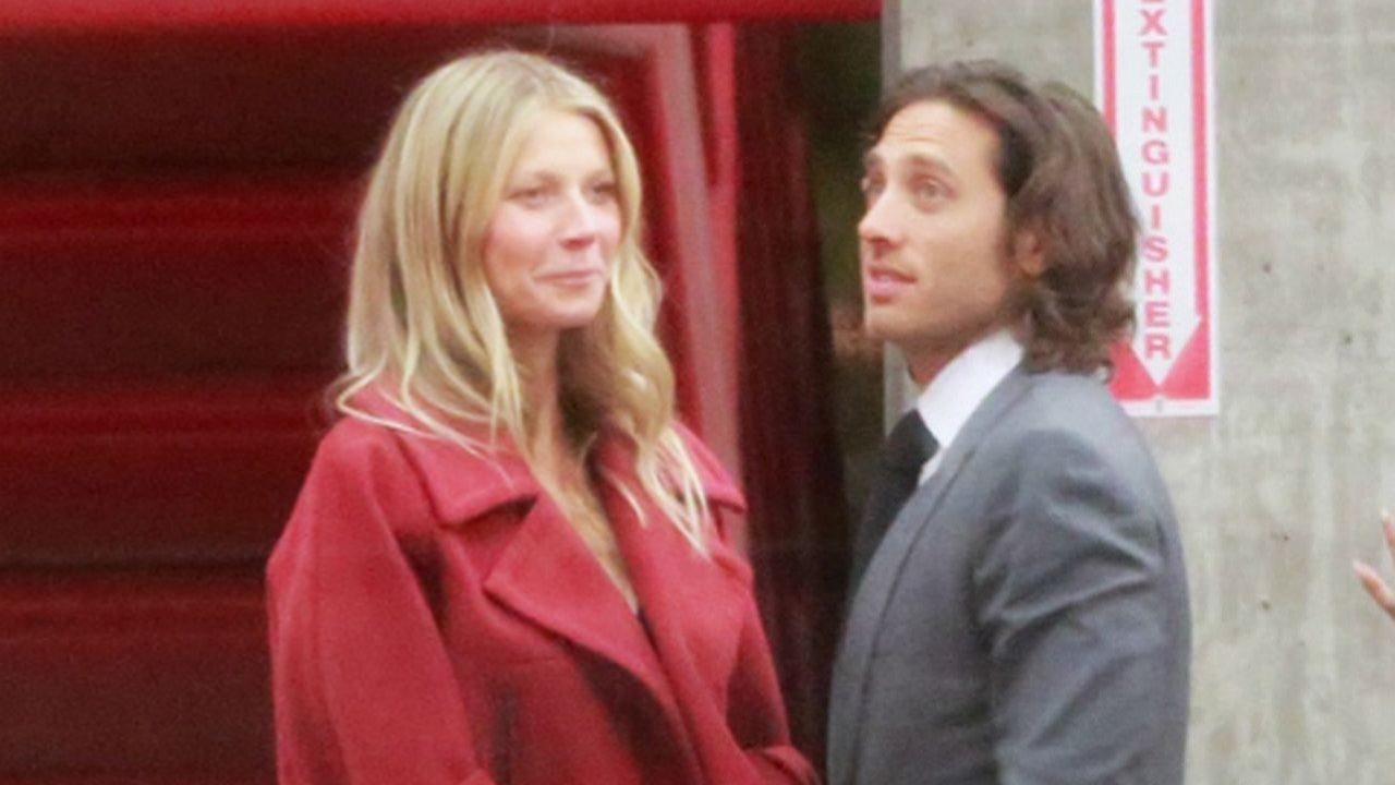 Friendly Exes Gwyneth Paltrow Chris Martin Party With