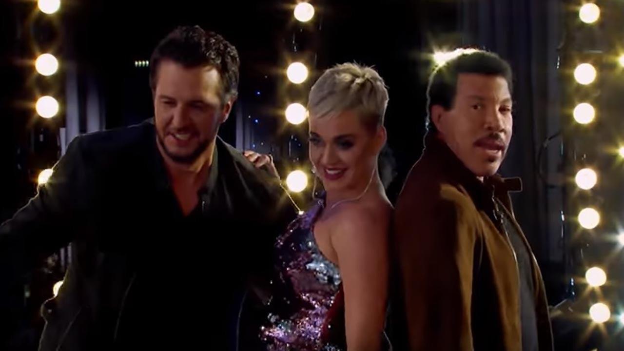 Katy Perry Suffers Wardrobe Malfunction on 'American Idol' -- Watch Her Fellow Judges' Reactions!