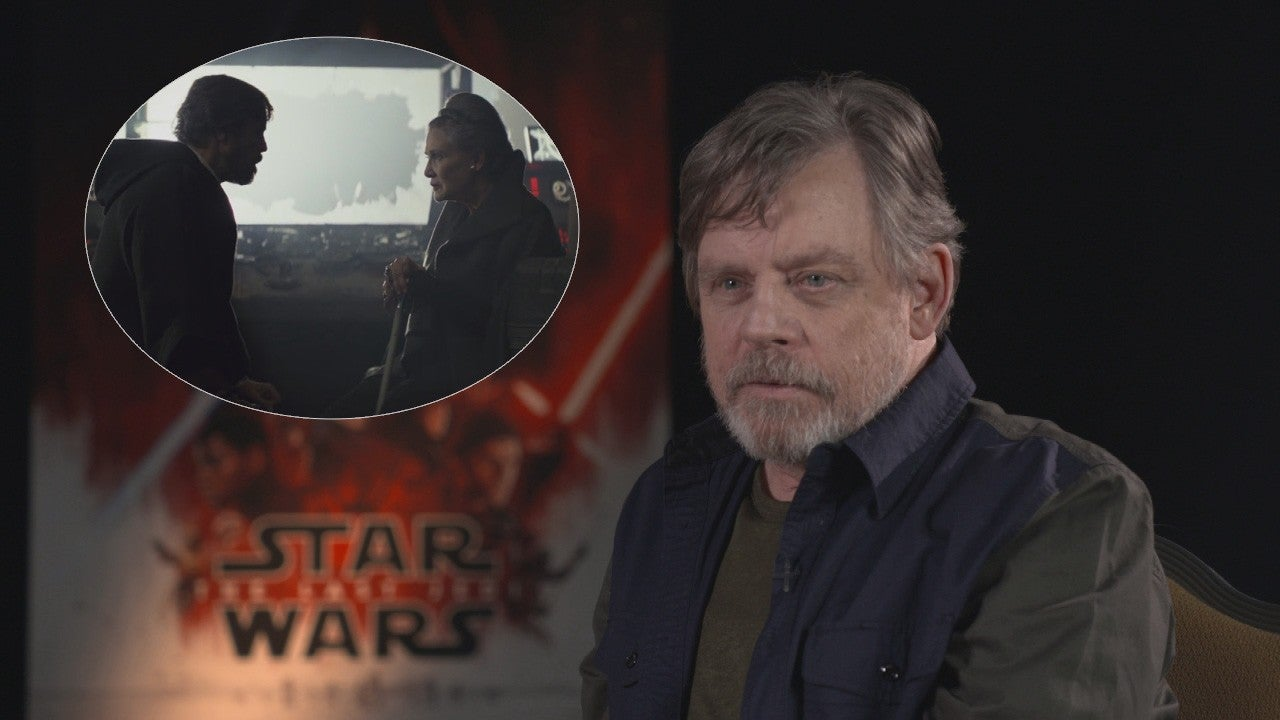 Mark Hamill 'Can't Watch' Luke's Goodbye to Carrie Fisher's Leia in 'Star Wars: The Last Jedi' (Exclusive)
