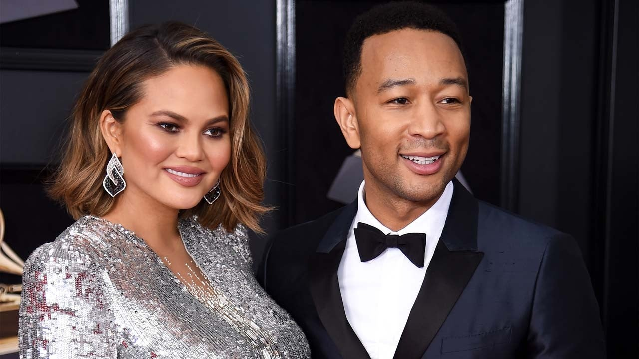 Chrissy Teigen and John Legend share name and first snap
