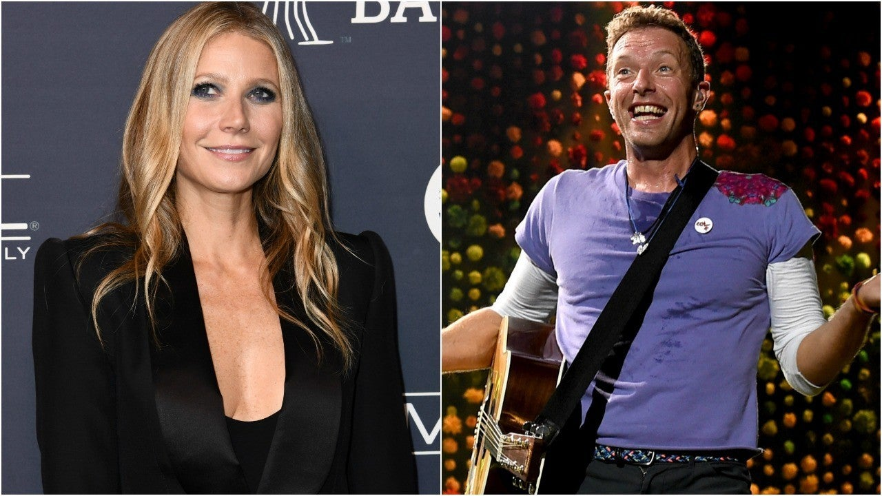 gwyneth paltrow and chris martin pose for sweet family