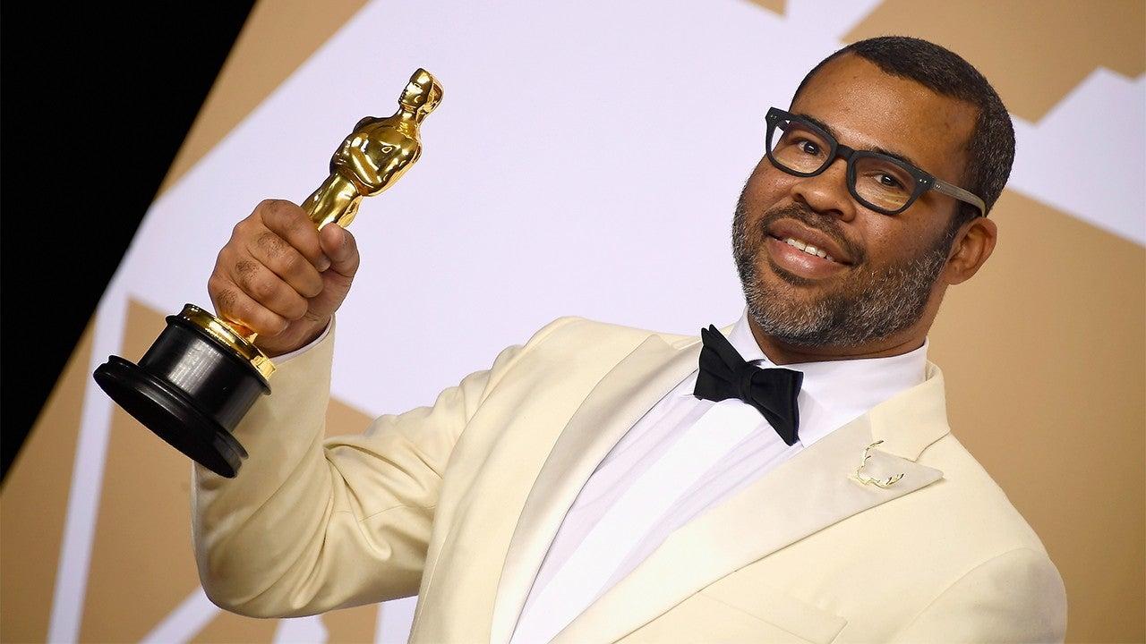 Jordan Peele is the first black writer to win Oscar for best original screenplay.