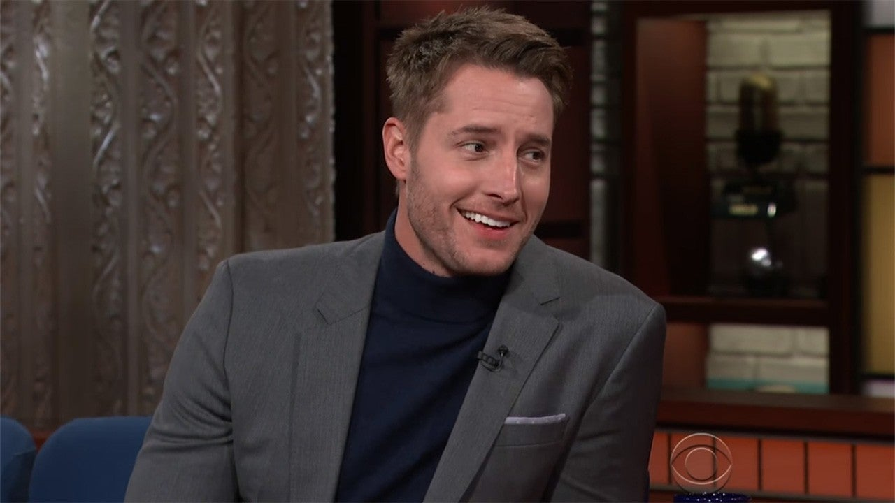 justin hartley channeled �this is us� to give speech at