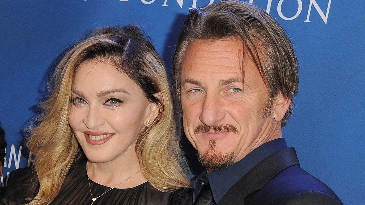 Sean Penn Says He Loves His First Wife Madonna Very Much Entertainment Tonight