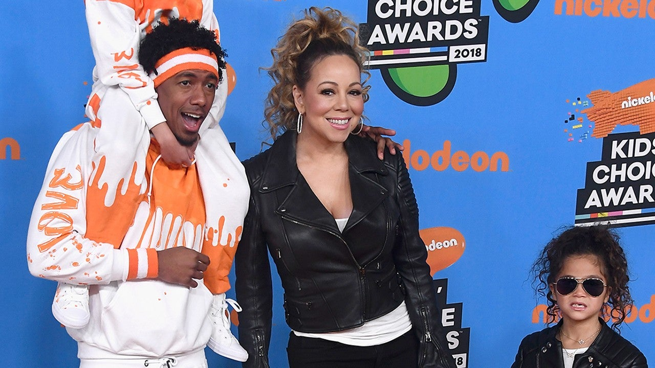 mariah carey and nick cannon match twins monroe and