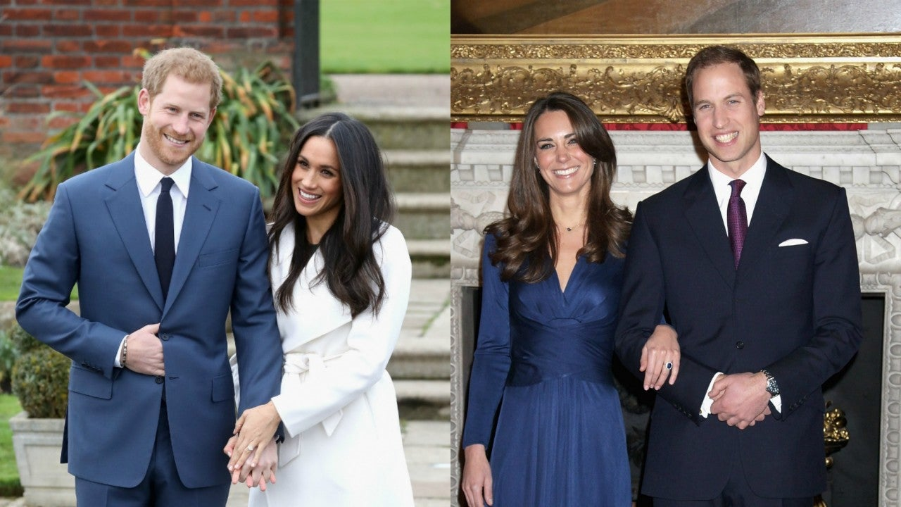 How Meghan and Harrys Engagement Interview Compares to William and Kates